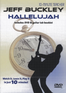 10-minute Teacher: Jeff Buckley - Hallelujah, DVD  DVD