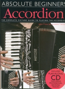 Absolute Beginners : Accordion (Book/CD), Paperback / softback Book