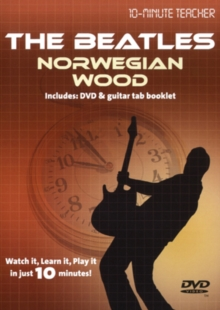 10-minute Teacher: The Beatles - Norwegian Wood, DVD  DVD