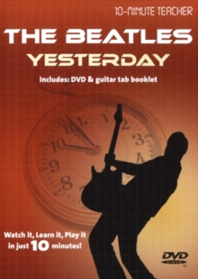 10-minute Teacher: The Beatles - Yesterday, DVD  DVD