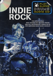 Play Along Drums Audio CD : Indie Rock, Paperback / softback Book
