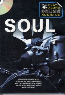 Play Along Drums Audio CD : Soul, Paperback / softback Book