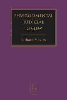 Environmental Judicial Review, Hardback Book