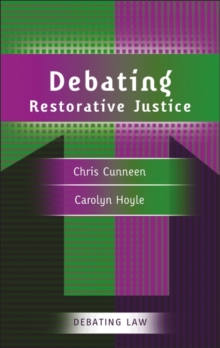 Debating Restorative Justice, Paperback / softback Book