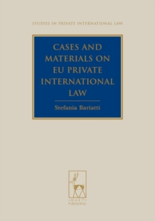 Cases and Materials on EU Private International Law, Paperback / softback Book