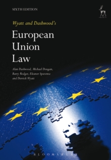 Wyatt and Dashwood's European Union Law, Paperback / softback Book