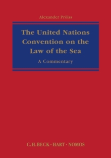 The United Nations Convention on the Law of the Sea : A Commentary, Hardback Book