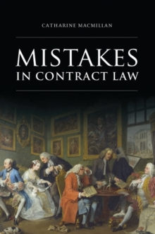 Mistakes in Contract Law, Paperback / softback Book