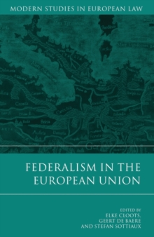 Federalism in the European Union, Hardback Book