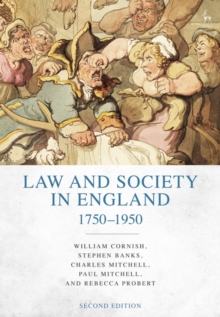Law and Society in England 1750-1950, Paperback / softback Book
