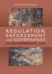 Regulation, Enforcement and Governance in Environmental Law, Paperback / softback Book