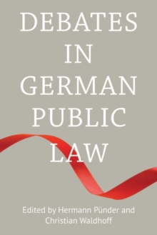 Debates in German Public Law, Hardback Book