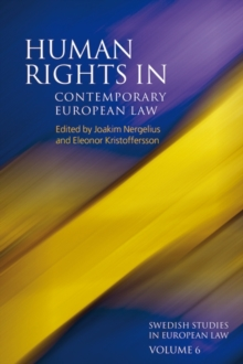 Human Rights in Contemporary European Law, Hardback Book