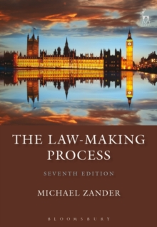 The Law-Making Process, Paperback Book