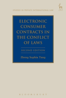 Electronic Consumer Contracts in the Conflict of Laws, Hardback Book