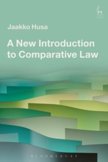 A New Introduction to Comparative Law, Paperback Book