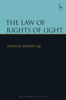 The Law of Rights of Light, Hardback Book