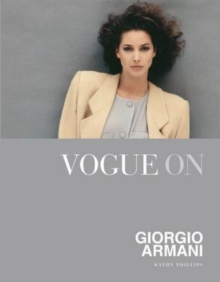 Vogue on: Giorgio Armani, Hardback Book