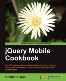 jQuery Mobile Cookbook, Paperback / softback Book