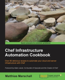Chef Infrastructure Automation Cookbook, Paperback / softback Book