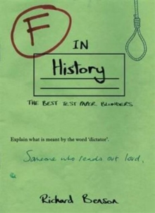 F in History, Paperback Book