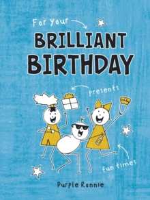 For Your Brilliant Birthday, Hardback Book