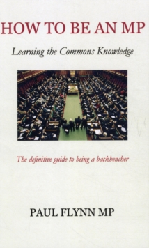 How to be an MP, Paperback Book
