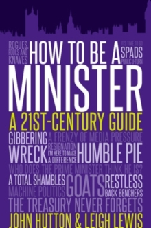 How to be a Minister, Hardback Book