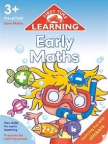 First Time Learning 3+  Early Maths, Paperback Book