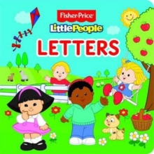 Fisher Price Little People Letters, Board book Book