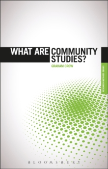 What are Community Studies?, Paperback / softback Book