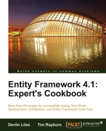 Entity Framework 4.1: Expert's Cookbook, Paperback / softback Book