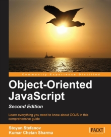 Object-Oriented JavaScript -, Paperback / softback Book