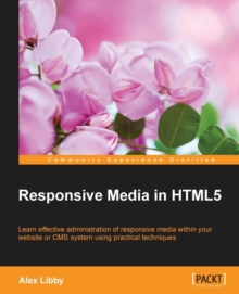 Responsive Media in HTML5, Paperback / softback Book