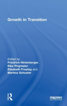 Growth in Transition, Hardback Book