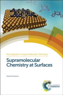Supramolecular Chemistry at Surfaces, Hardback Book