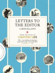 Letters to the Editor, Hardback Book