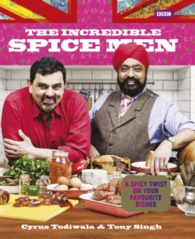 The Incredible Spice Men, Hardback Book