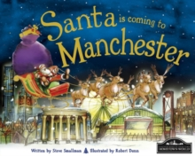 Santa is Coming to Manchester, Hardback Book