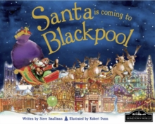 Santa is Coming to Blackpool, Hardback Book