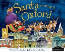 Santa is Coming to Oxford, Hardback Book