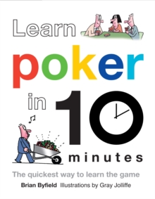 Learn Poker in 10 Minutes, Hardback Book