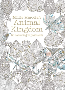 Millie Marottas Animal Kingdom Postcard Box 50 Beautiful Cards For Colouring In Book Or Pack