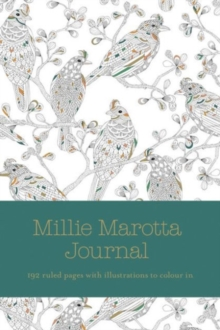 Millie Marotta Journal : ruled pages with full page illustrations from Wild Savannah, Hardback Book
