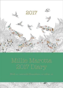 Millie Marotta 2017 Diary : featuring illustrations from Wild Savannah, Hardback Book