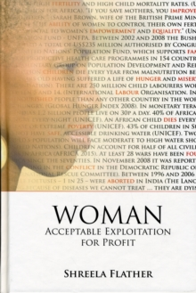 Woman : Acceptable Expoitation for Profit, Hardback Book