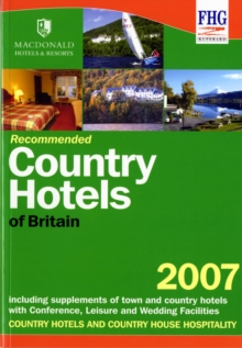 Recommended Country Hotels of Britain, Paperback Book