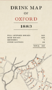 Drink Map of Oxford, Sheet map, folded Book