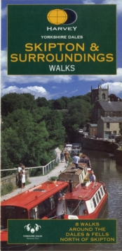 Yorkshire Dales : Skipton and Surroundings Walks, Sheet map, folded Book