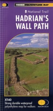 Hadrians Wall XT40, Sheet map, folded Book